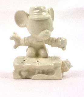 Goebel White Porcelain Walt Disney Mickey Mouse Made in Germany