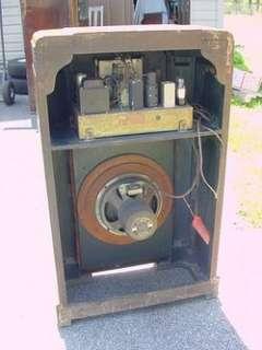 Majestic 650 Console Radio