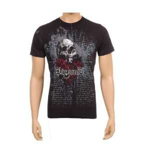 Gothic Skull Black Design Tattoo Basement T Shirt Tee