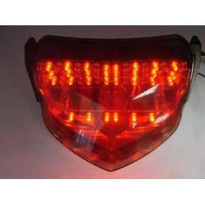Smoke Motorcycle Integrated LED Tail Brake Stop Light with
