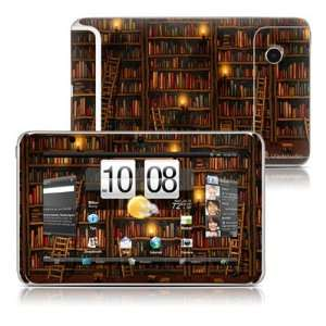 Library Design Protective Decal Skin Sticker for HTC Flyer