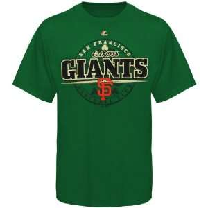 San Francisco Giants Luck Of Ours T Shirt   Green