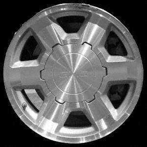 ALLOY WHEEL gmc SIERRA PICKUP DENALI 04 YUKON XL 17 inch
