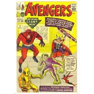 The Avengers #2 (The Avengers) Marvel Comic Group Books