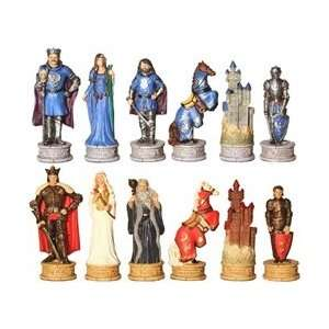 Legend of King Arthur Chess Set Pieces: Toys & Games