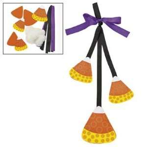 : Candy Corn Door Hanger Craft Kit   Adult Crafts & Decoration Crafts