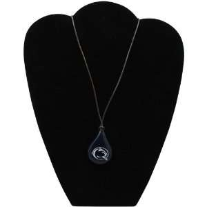 Dayna U Penn State Nittany Lions Tear Drop Wood Necklace Jewelry