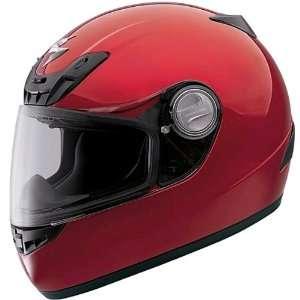 Scorpion Solid EXO 400 Full Face Motorcycle Helmet   Wine