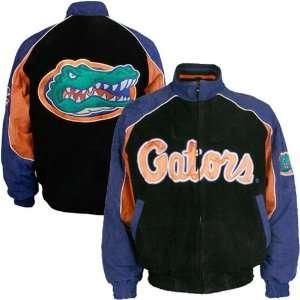 Florida Gators Black Suede Varsity Jacket  Sports