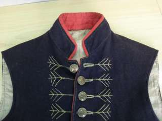 19C. ANTIQUE MILITARY UNIFORM VEST – AUSTRIA HUNGARY