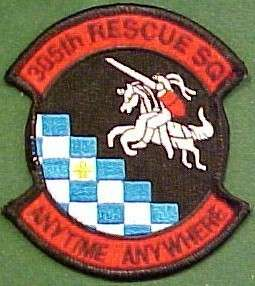 Air Force 305th Rescue Squadron Patch