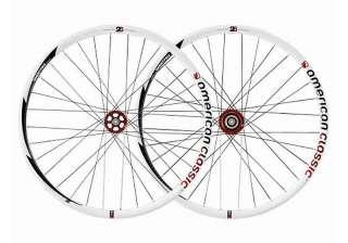 American Classic MTB 26 Tubeless Disc Bike Wheelset Rim  White 2011