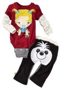 NWT HARAJUKU MINI FOR TARGET BABY GIRLS DOG 2 PC SET SIZE 18 MO GWEN