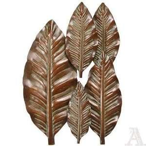 Palm Tree Leaf Wall Decoration Art Sculpture