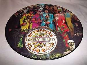 BEATLES SGT PEPPERS LONELY HEARTS CLUB BAND CAPITOL SEAX 11840 PICT