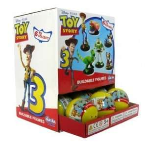 Toy Story 3 Tomy Gashopan Buildable Figures Blind Pack Random Toys
