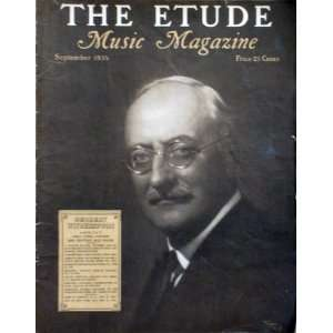 The Etude Music Magazine, September 1935 Books