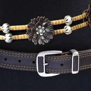 Sima of Austria   Brown Leather Fashion Belt SIze 85cms