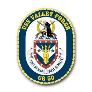 US Navy Ship USS Valley Forge CG 47 Decal Sticker 3.8