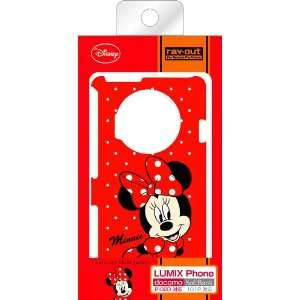 Character Shell Jacket for LUMIX Phone (Minnie Mouse) Electronics