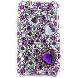 Purple Diamond Rhinestone Case for iPhone 3G/ 3GS