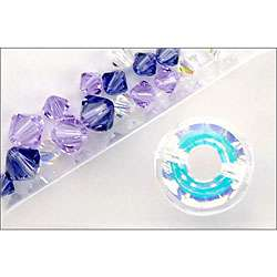 Jewels Crystallized Element 18 piece AB Ring Mix Beads