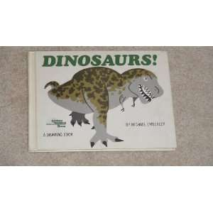 : Dinosaurs!: A Drawing Book (9780316234177): Michael Emberley: Books