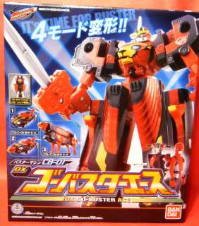 Sentai GO BUSTERS CB 01 DX GO BUSTER ACE MEGAZORD POWER RANGERS