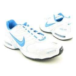 NIKE Air Womens Max Torch 4 White/Itly Bl Pl Bl Mtllc Slvr Running