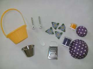 Kitchen Accessories Set   Fits 18 & American Girl Doll