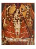 Our Lady of the Rosary, Nuestra Senora Del Rosario, Anonymous Cuzco