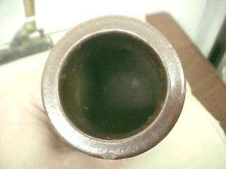 Antique Stoneware Marked Blacking Bottle