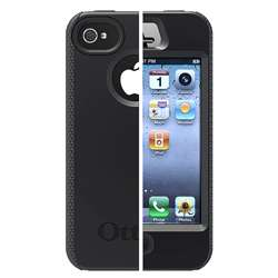 Otter Box Apple iPhone 4S Black Impact Case
