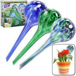 As Seen on TV Plant watering Aqua Globes (Set of 3)