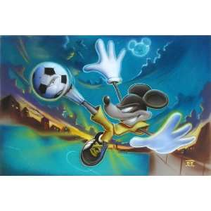 Kickin It   Disney Fine Art Giclee by Noah: Home & Kitchen