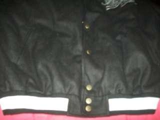 NWT Mens XL Steve & Barrys Bomber Leather Jacket