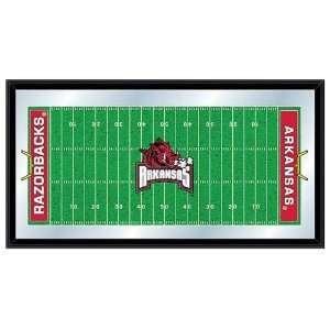 University of Arkansas Razorbacks NCAA Football Mirrored Sign