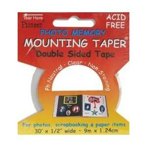 Photo Memory Double Sided Mounting Tape Arts, Crafts