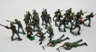 MPC Soldiers 1950s Lot 25 Handpainted SPECIAL FORCES Green Berets Exc