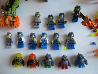 Huge Lego Power Miners Crystal Mini Figure Rock Monster Set 8961 8963