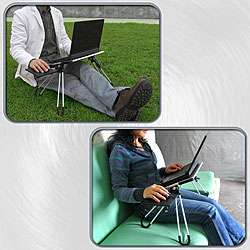 Laptop Buddy Portable Black Laptop Table