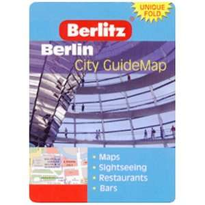 Berlin Berlitz Z Map (Berlitz City Guidemaps