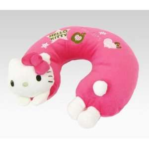 Hello Kitty Kids Travel Pillow Green Apple Toys & Games