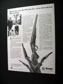 Savage Fox B 311 333 Shotguns gun guns 1974 print Ad