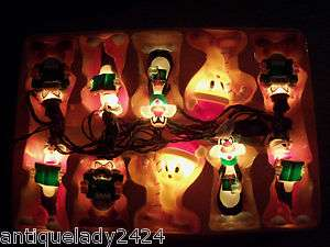 LOONEY TUNES Christmas String Lights Bugs Bunny Taz Tweety bird