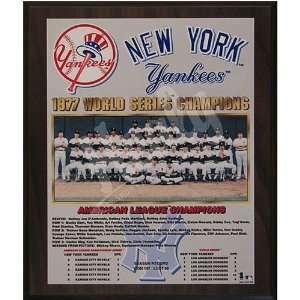 1977 New York Yankees World Series Champions Team 13x16