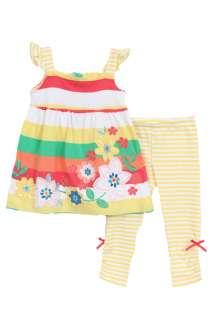 NWT BT Kids Girls 2 pc summer top and leggings set 091939954212