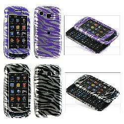 Samsung Impression A877 Crystal Case with Zebra Design