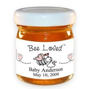 Bee Loved with Pink Hearts Honey Jar Toys & Games