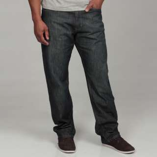 Calvin Klein Jeans Mens Relaxed Dark Wash Denim Jeans  Overstock